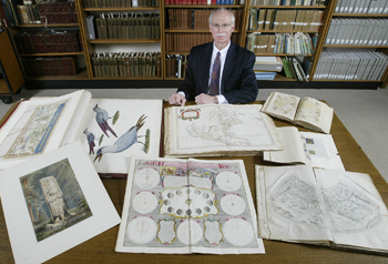 Uwm S Ags Library Stores Secrets In Rare Cartography