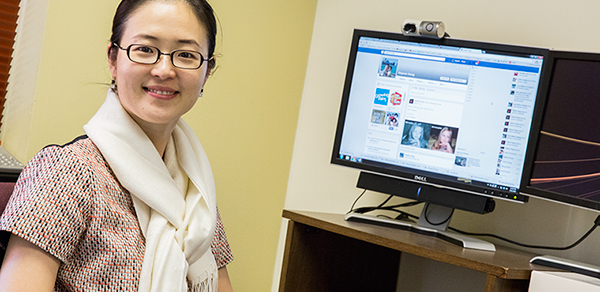 Hayeon Song has found that many Facebook users use the service as a response to loneliness.