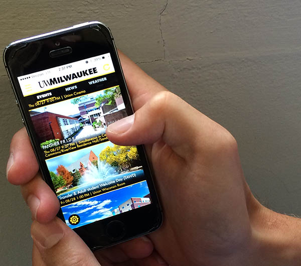The UWM App Brewery has released a new version of the UWM app, with improved news and events pages.