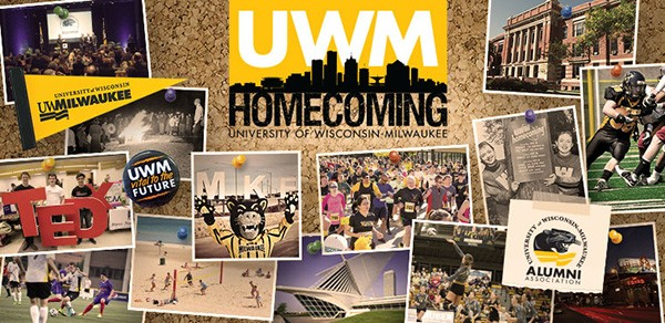 UWM's homecoming celebration includes sports, food, a talent show, alumni awards and more.