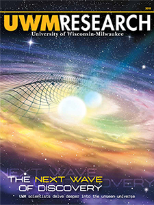 UWM Research 2018 magazine cover