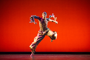 Desmond Cotton, a December 2015 dance graduate of the Peck School of the Arts at UWM, included African dance classes in his coursework. He was featured in Dance magazine in the summer of 2015. (Photo by Mark Frohna)