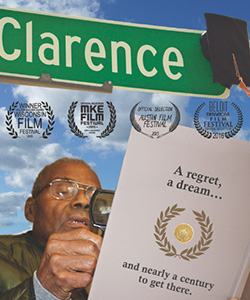 Award-winning documentary about 87-year-old graduate Clarence Garrett will be at the Beloit film festival.