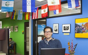 Graduate student Sergio López Ramos founded a learning program called Somos Latinos.
