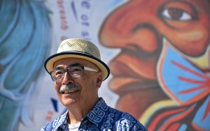 U.S. Poet Laureate Juan Felipe Herrera reads and writes in both English and Spanish. He will share his poetry at UWM on Thursday, March 3. (Photo courtesy of Library of Congress)