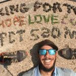 James Amato hiked 500 miles on the Pacific Crest Trail to raise money for a scholarship honoring one of his favorite professors, the late Thomas Hooyer.