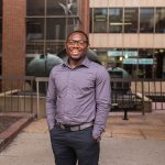 Anye Ngwa traveled from Cameroon to earn his degree from UWM, and learned a few non-academic things along the way, too.