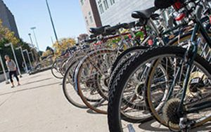 May 20 is Bike to Work Day. Join UWM riders from two locations, both beginning at 7:30 a.m.