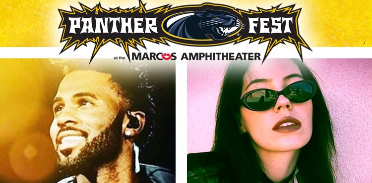 Jason Derulo and Bishop Briggs to play at Pantherfest 2016