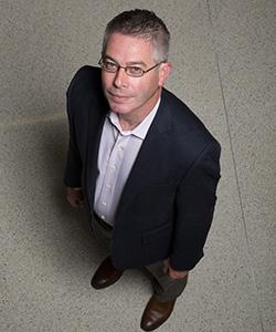 Patrick Brady. (UWM Photo/Troye Fox)