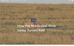"""""""How the Mississippi River Valley turned red"""" screen capture"""