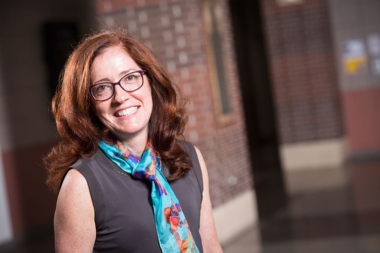 Laura Peracchio will be the inaugural Judith H. and Gale E. Klappa Endowed Professor of Marketing at the University of Wisconsin-Milwaukee's Sheldon B. Lubar School of Business. (UWM Photo/Troye Fox)