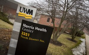The Norris Health Center provides high-quality medical service to students at UWM. (UWM Photo/Derek Rickert