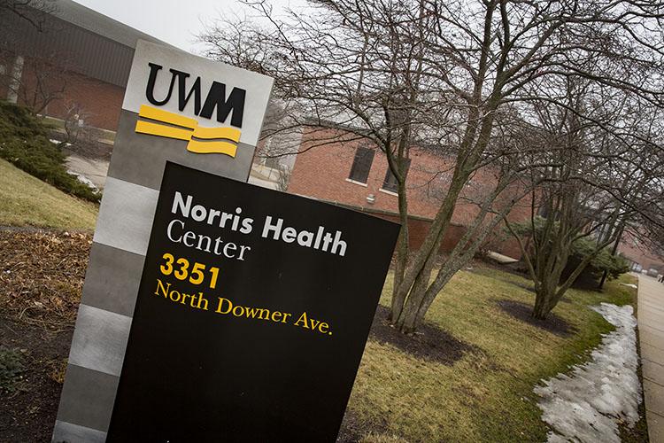 The Norris Health Center provides high-quality medical service to students at UWM. (UWM Photo/Derek Rickert