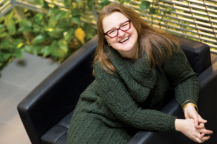 Portrait of Melinda Kavanaugh.