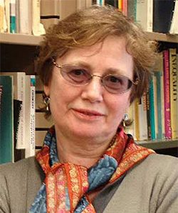 Margaret Atherton, distinguished professor of philosophy, delivered a 2017 John Dewey lecture.