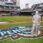 Mike Kennedy grew up rooting for the Minnesota Twins. Now, the UWM grad works for the team. (Brace Hemmelgarn/Minnesota Twins)
