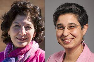 Nadya Fouad (left) and Romila Singh