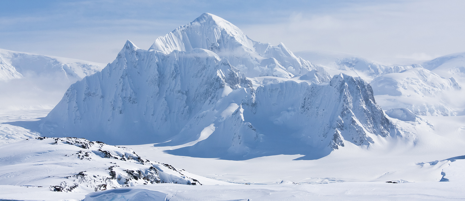 Antarctic mountain