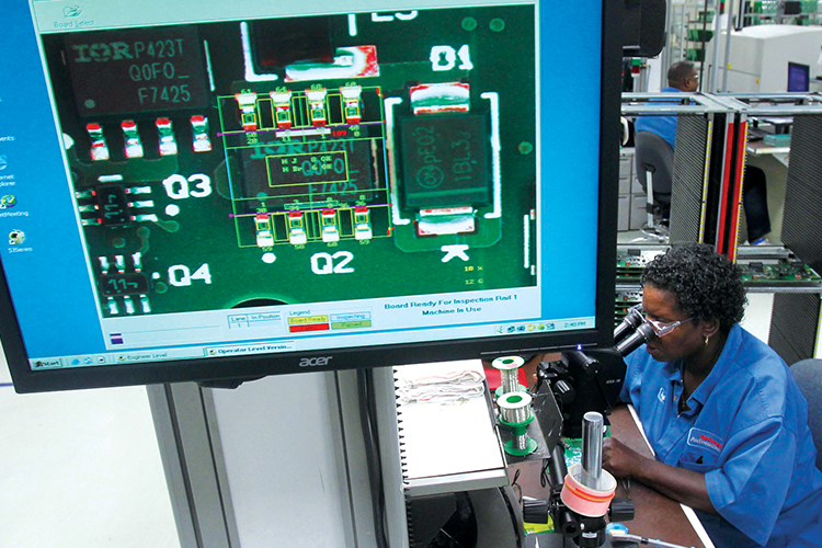 Manufacturing monitor