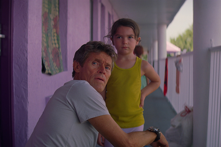 """A still from """"The Florida Project."""""""