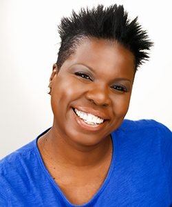 A head shot of Leslie Jones.