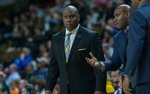 UWM men's basketball coach Pat Baldwin