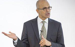 Microsoft CEO and UWM alumnus Satya Nadella