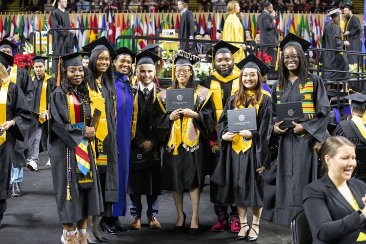 Uw Graduation Ceremony 2020.New Graduates Show Their Pride At Uwm Commencement