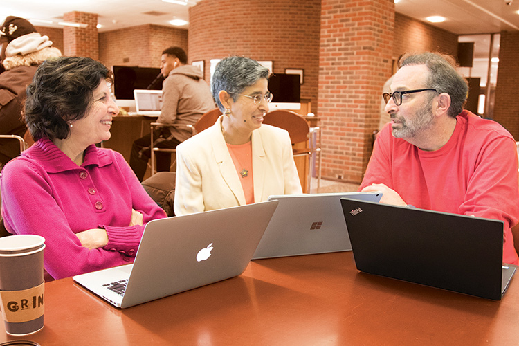 Nadya Fouad, Romila Singh and Ed Levitas