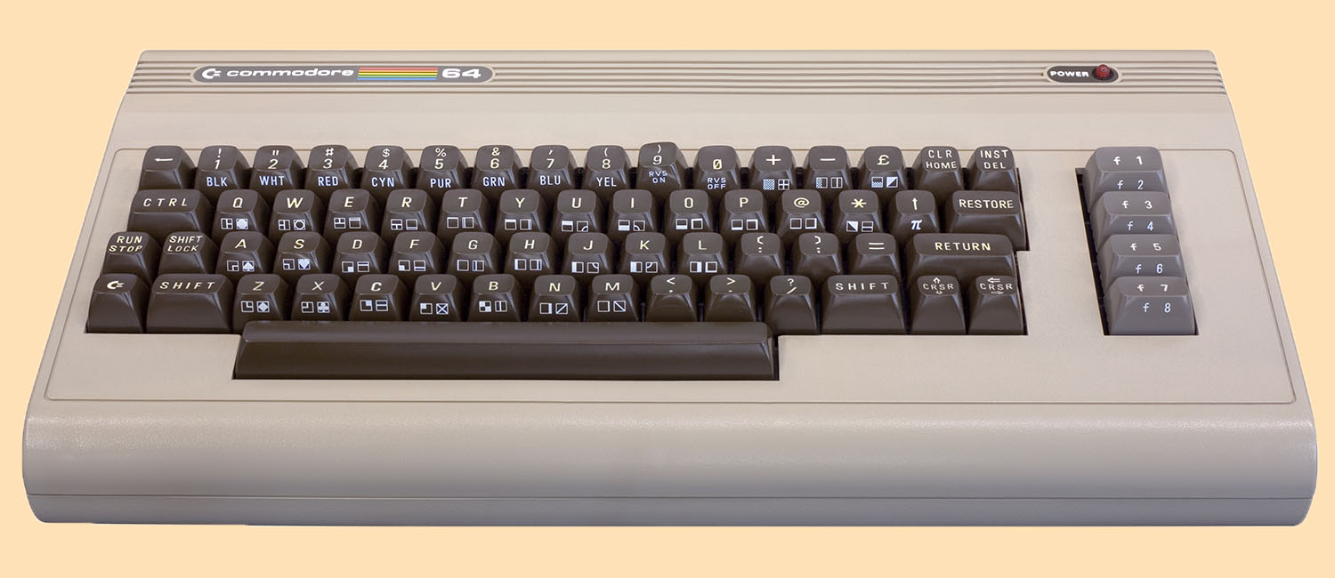 Image of Commodore 64 8-bit computer