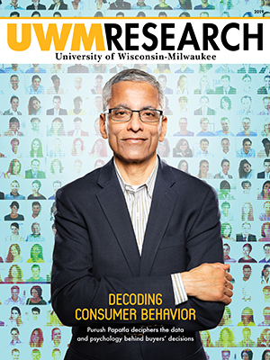UWM Research 2019 magazine cover