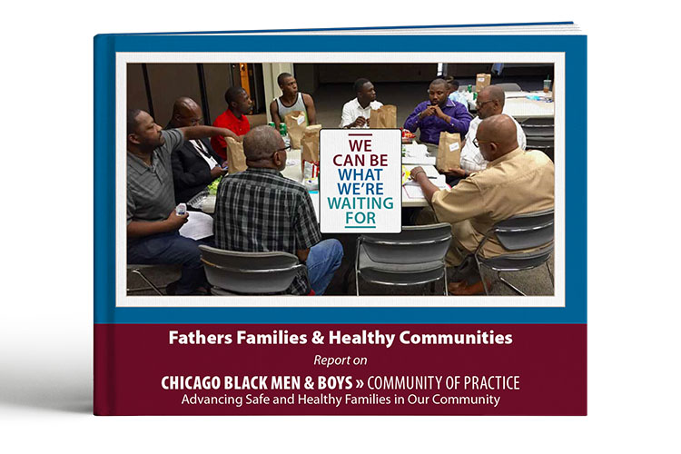 The title page of the Fathers Families & Healthy Communities report.