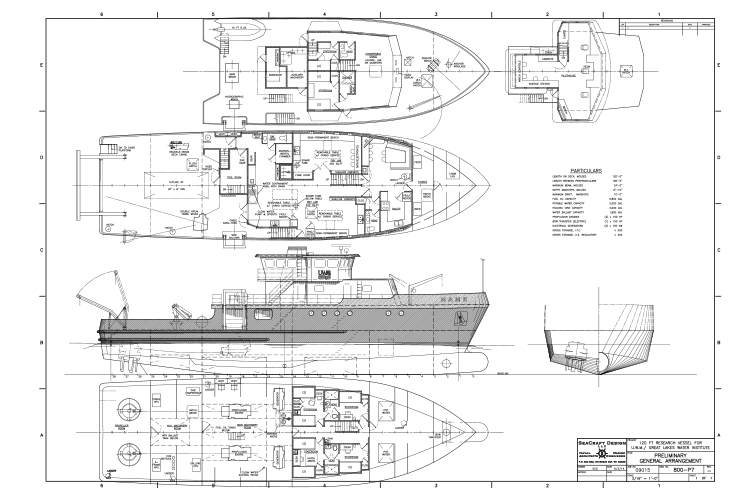 Blueprints for a new ship