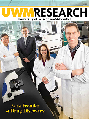 UWM Research 2020 magazine cover