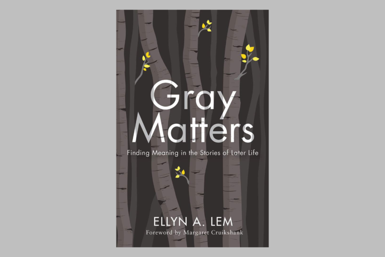 Gray Matters book cover against gray background
