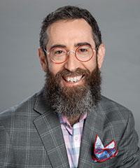 Portrait shot of Marc Tasman
