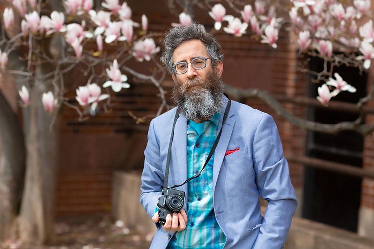 Marc Tasman posing for a photo.