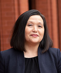 Portrait shot of Chia Vang