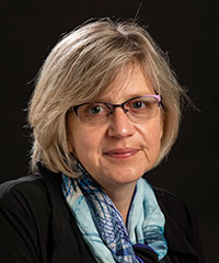 Portrait shot of Amy Watson