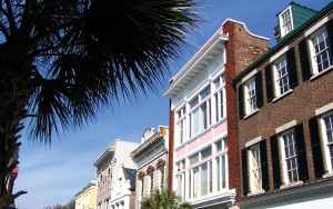 This picture shows King Street in Charleston, South Carolina.