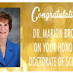 UWM awards Dr. Marion Broome, PhD, RN, FAAN an honorary degree