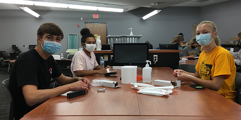 Nursing Students Make Over 5,000 Face Coverings