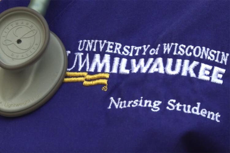 Video Opening Nursing Student Uniform Embroidered Logo