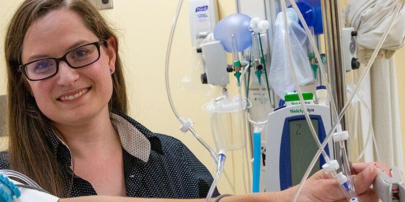 PhD Nurse Student inventor Lindsey Roddy
