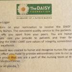 Image of Logan Daisy Award Certificate