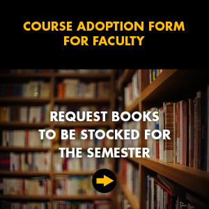 Course Adoption Form for Faculty - Request books to be stocked for the semester