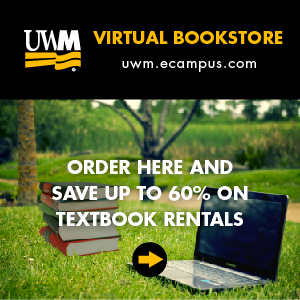 UWM Virtual Bookstore - Order here and save up to 60% on textbook rentals