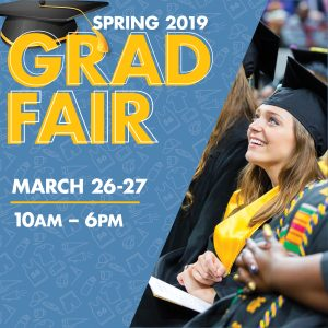 uwm grduation fair is march 26 and 27 2019