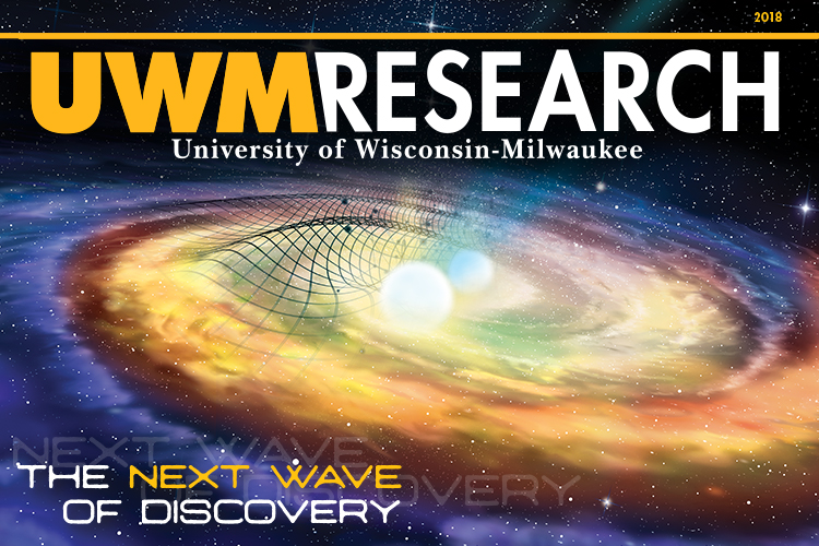 The cover of the 2018 UWM Research Magazine